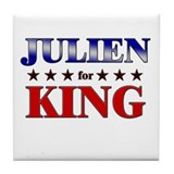 JULIEN for king Tile Coaster