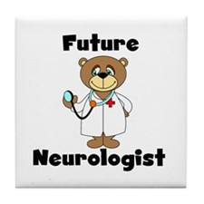 Future Neurologist Tile Coaster