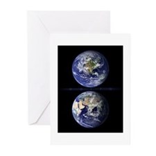 The Earth from Space Greeting Cards (10 pack)