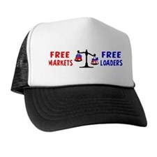 """Free Loaders"" Trucker Hat"