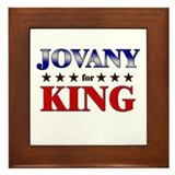 JOVANY for king Framed Tile