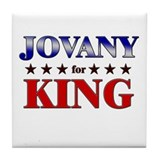 JOVANY for king Tile Coaster