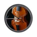 Viols in Our Schools Viola da Gamba Wall Clock