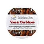 "Viols in Our Schools 3.5"" Button"