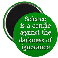 Science is a Candle Magnet