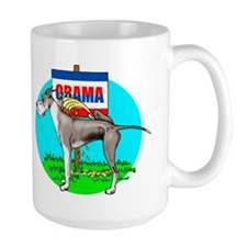 Mantle Dane Pi$$ on Obama Mug