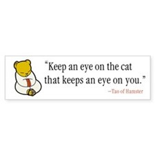 Tao of Hamster Bumpersticker