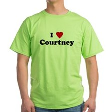 I Love Courtney T-Shirt