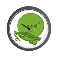 Sweet Little Pea Wall Clock