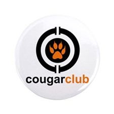 "Cougar Club 3.5"" Button"