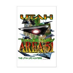 2005 Utah The New Area 51 Mini Poster Print