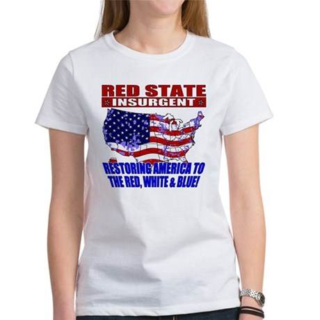 Red State Insurgent Women's T-Shirt