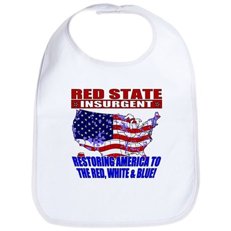 Red State Insurgent Bib