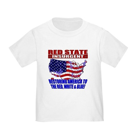 Red State Insurgent Toddler T-Shirt