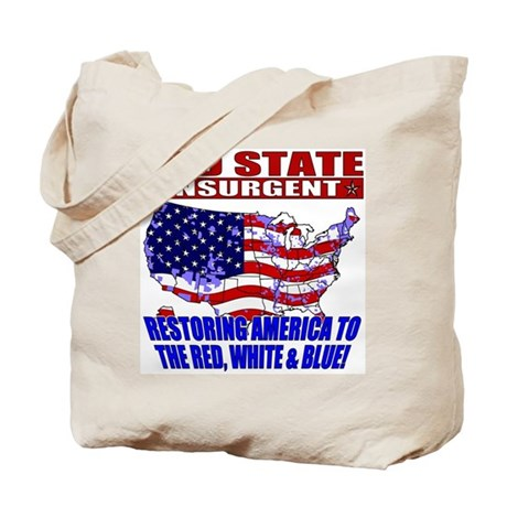 Red State Insurgent Tote Bag