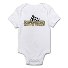 17 Racing Mommy Infant Bodysuit
