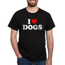 I Heart Dogs T-Shirt