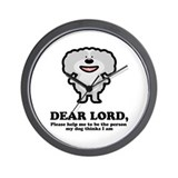 Dear Lord Wall Clock