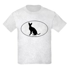 Cornish Rex Silhouette T-Shirt