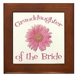 Daisy Bride's Granddaughter Framed Tile