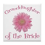 Daisy Bride's Granddaughter Tile Coaster