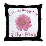 Daisy Bride's Granddaughter Throw Pillow