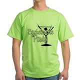 Black & White Martini Bachelo T-Shirt