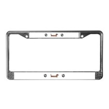 Cute Sf bay License Plate Frame