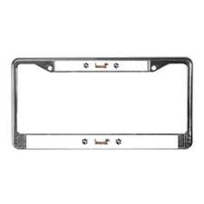 Funny Sf bay License Plate Frame