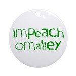 Impeach O'Malley Ornament (Round)
