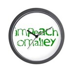 Impeach O'Malley Wall Clock
