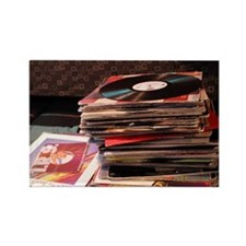 Record Stack<br>Magnet