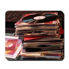 Record Stack<br>Mousepad