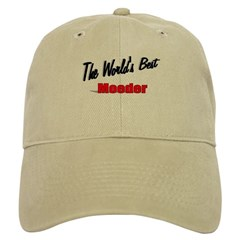 """The World's Best Moeder"" Cap"
