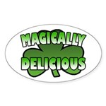 Magically Delicious Oval Sticker