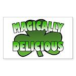 Magically Delicious Rectangle Sticker