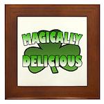 Magically Delicious Framed Tile