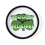 Magically Delicious Wall Clock