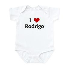 I Love Rodrigo Onesie