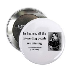 "Nietzsche 8 2.25"" Button (10 pack)"