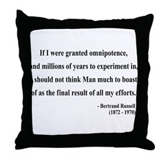 Bertrand Russell 11 Throw Pillow