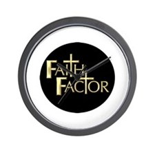 Faith Factor Wall Clock