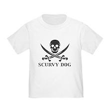 Scurvy Dog Pirate T