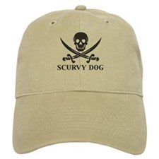 Scurvy Dog Pirate Baseball Cap