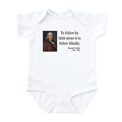 Benjamin Franklin 16 Infant Bodysuit