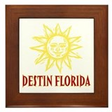 Destin Sun - Framed Tile