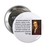 "Thomas Paine 22 2.25"" Button"