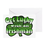 Get Lucky with an Irishman Greeting Card