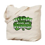 Get Lucky with an Irishman Tote Bag