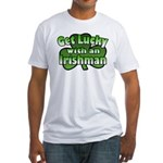 Get Lucky with an Irishman Fitted T-Shirt